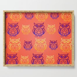 Owl Nation Serving Tray