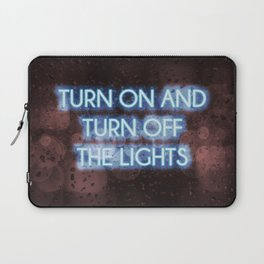 Neon - Turn on and off Laptop Sleeve