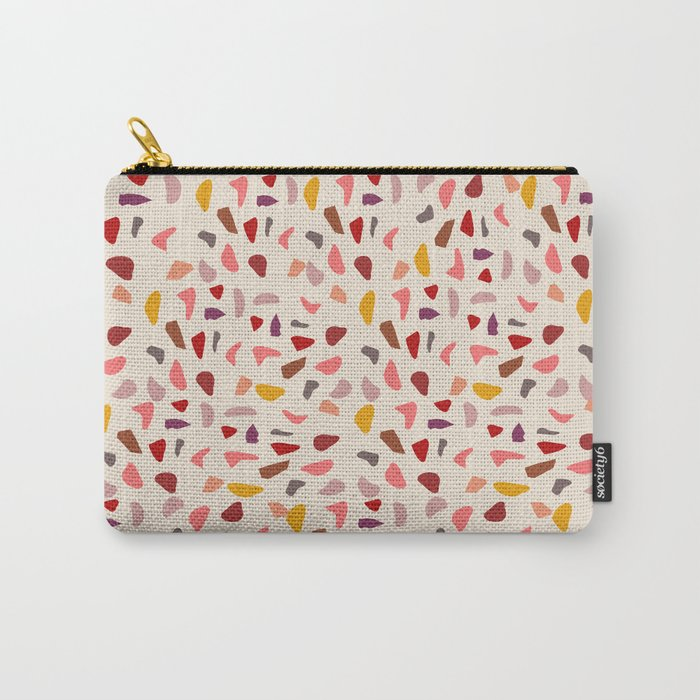 Terrazzo Autumn  #society6 #decor Carry-All Pouch
