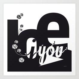 I Love You 3 Art Print