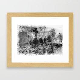 The Haunting Framed Art Print
