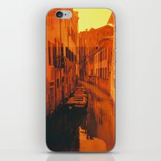 Venice in Redscale Film iPhone & iPod Skin