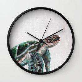 Sanddollar the Sea Turtle Wall Clock
