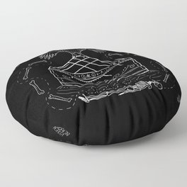 Birth of the Shaman Floor Pillow