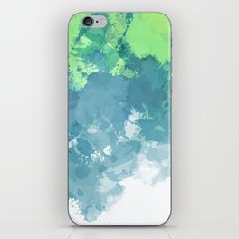 Watercolor Splash Abstract iPhone Skin