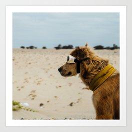 Doggles Art Print