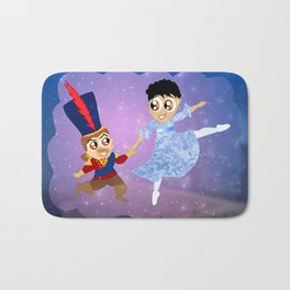 The Nutcracker Ballet. Cassandra and Varric Bath Mat