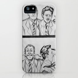 HPL and Frank iPhone Case