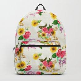 Bunnies & Lavender Backpack