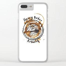 112/365 - HB Artwork Clear iPhone Case