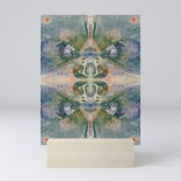 Abstract Space Blossom Mini Art Print