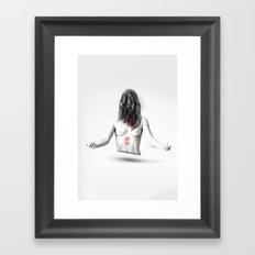 I'm Normal Framed Art Print