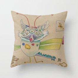 ART AND TOAST Throw Pillow