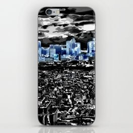 Paris - Blick vom Eiffelturm 2 iPhone Skin