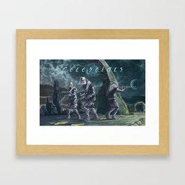Celestials Framed Art Print