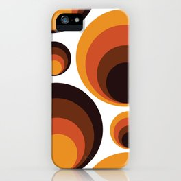 Back To The 70's iPhone Case