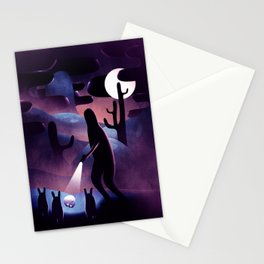 Year 4000 Stationery Cards