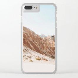 Boho Landscape Clear iPhone Case