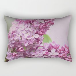 Lilac Florette Rectangular Pillow