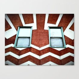 HAPPY HOUSE. Canvas Print