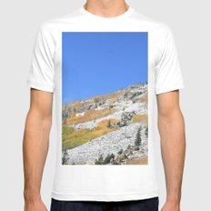 First Snow Mens Fitted Tee White MEDIUM