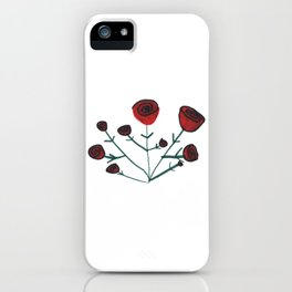 Little Artist Big Dreams: Roses iPhone Case