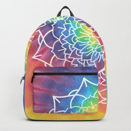RAINBOW TIE DYE MANDALA Backpack