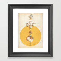 circus 001 Framed Art Print