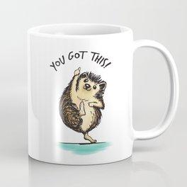 Motivational Hedgehog Coffee Mug