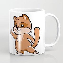 Cute cartoon squirrel. Coffee Mug