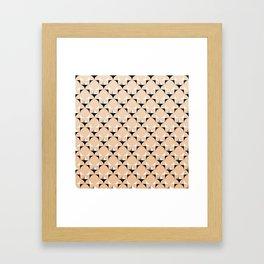Mod Blush Framed Art Print