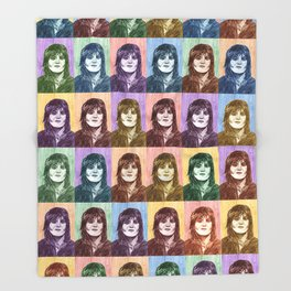 Joan Jett Throw Blanket