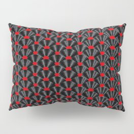 Covered in Vinyl / Vinyl records arranged in scale pattern Pillow Sham