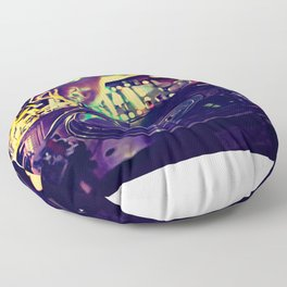 At Nightclub Floor Pillow