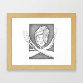 Accretion Framed Art Print