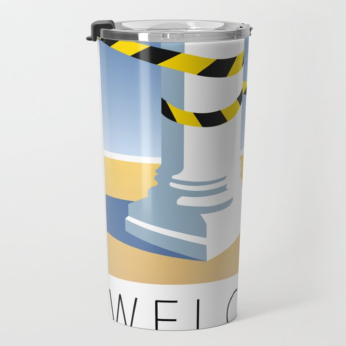Welcome to Thebes Poster Travel Mug