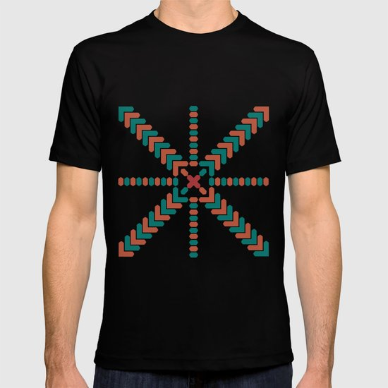 X Marks the Center T-shirt