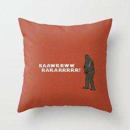 Solo's sidekick Throw Pillow