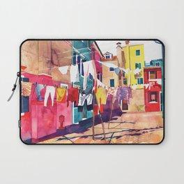 Laundry in Venice Laptop Sleeve