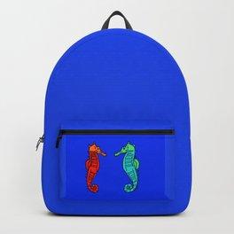 The Charming Sea-Horses Backpack