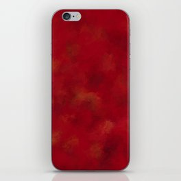 Visaripea - loud red forest iPhone Skin