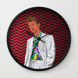 Phillip Jeffries (I still miss David Bowie) Wall Clock