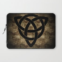 Wooden Celtic Knot Laptop Sleeve