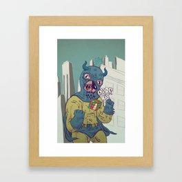 infernal machinery Framed Art Print
