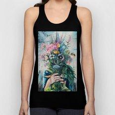 The Last Flowers Unisex Tank Top