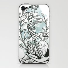 Love is an Anchor iPhone & iPod Skin