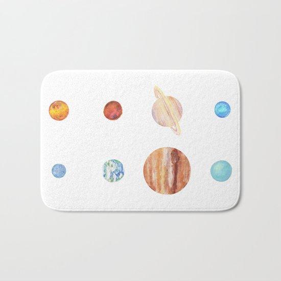 Painted Universe  Bath Mat