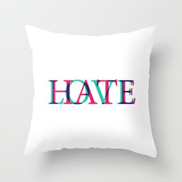 Love and Нate Throw Pillow