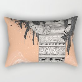Fox Tree Rectangular Pillow