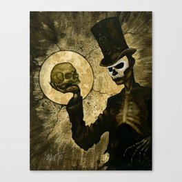 Shadow Man Canvas Print